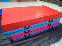 "10FT x 5FT x 12"" THICK (610gsm) Safety Matress Crash Mat (RED)"
